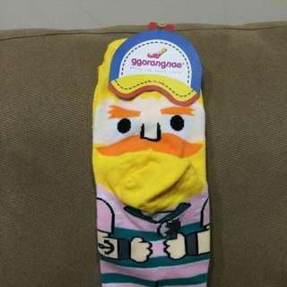 韓國卡通襪(全新)