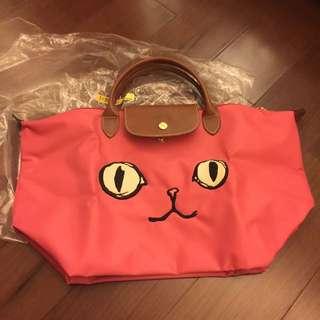 Longchamp 貓咪 限量