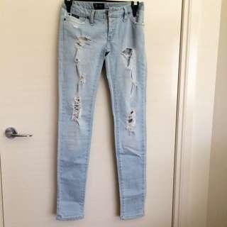 BARDÓT - Skinny Ripped Jeans