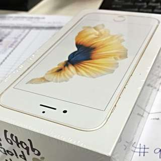 (Reserved Till Tonight) BNIB iPhone 6S 64GB - Gold