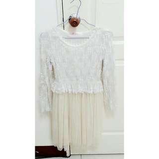 珍珠蕾絲洋裝