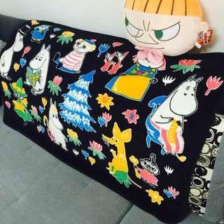 嚕嚕米睡午覺毯毯