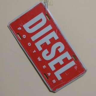 Diesel Logo復古車牌(鐵牌)