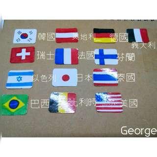 《手作貼紙》環遊世界 國旗貼紙