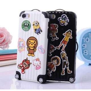 行李箱iPhone Case 5/5s 6/6s Plus