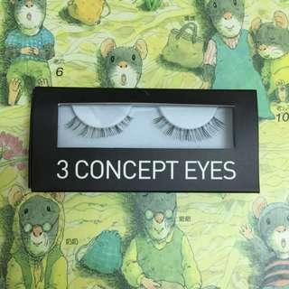 3CE(單副)魅力電眼假睫毛-洋娃娃9mm