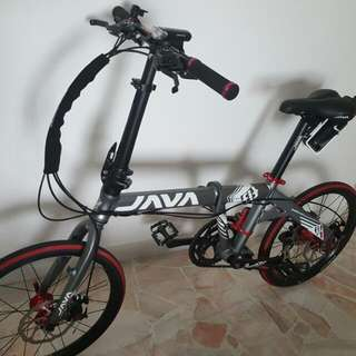 Java Folding Bike (Condition Like New)