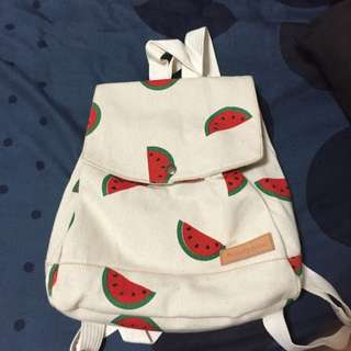 RESERVED-Cute Watermelon Mini Bagpack