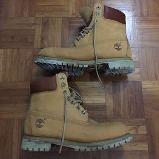 Timberland Classic Boots. (suede Leather Lace edition)
