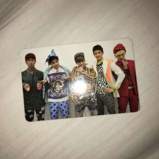 SHINEE GROUP MISCONCEPTION PHOTOCARD