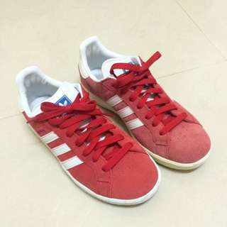 Adidas Originals Grand Prix 愛迪達 紅色 麂皮 24號