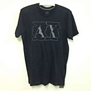 AX 男版短袖T恤(黑)