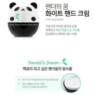 ▍TONYMOLY 熊貓的夢美白護手霜 ▍