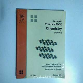 A Level Chemistry Practice Questions