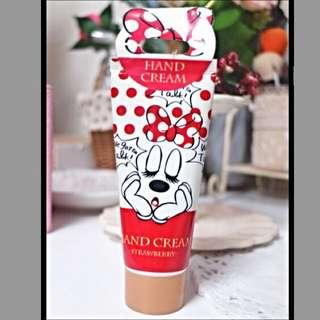 (全新)日本Disney Store-米妮草莓味護手霜