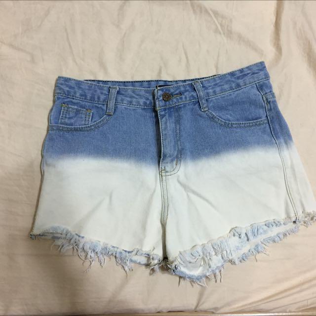 漸層短褲(含運)