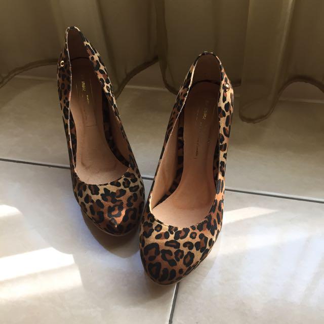 🎀豹紋高跟鞋