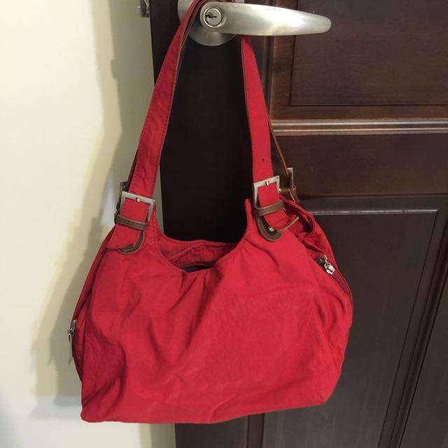 紅色手拿包