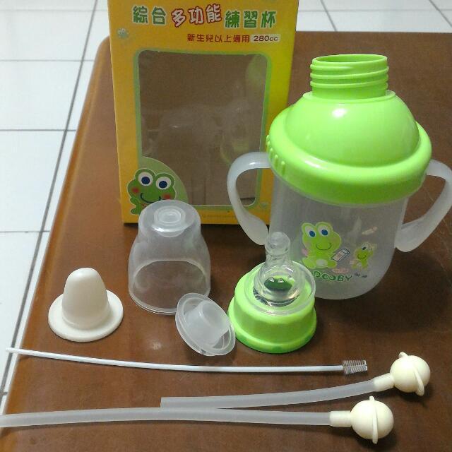 💰含運💰買了兩組,一組出售全新大眼蛙多功能神奇練習杯