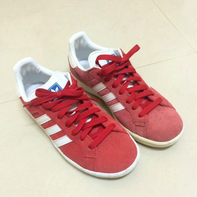 Adidas Originals Grand Prix 愛迪達 紅色 麂皮 24號