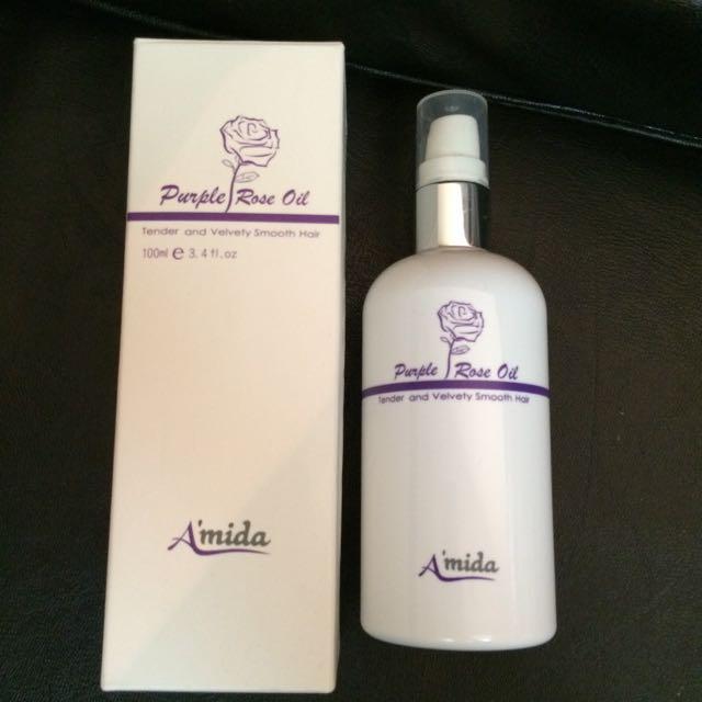 Amida 紫玫瑰油(護髮油)