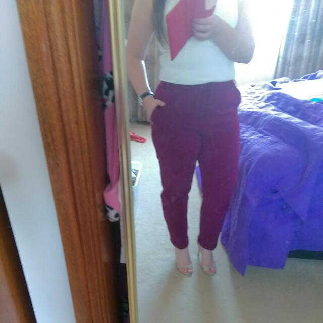 Asos High waisted Pants