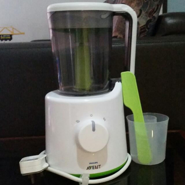 Avent 2 In 1 Food Processor And Steamer
