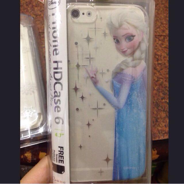 Frozen冰雪奇緣⛄️Elsa愛莎 彩繪背蓋手機殼保護殼  I6 (4.7吋)