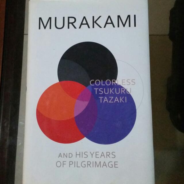 """Murakami """"Colorless Tsukuru Tazaki"""""""