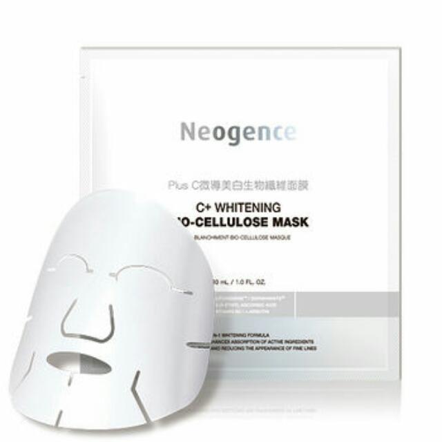 Neogence 霓淨思 Plus C微導美白生物纖維面膜-單片
