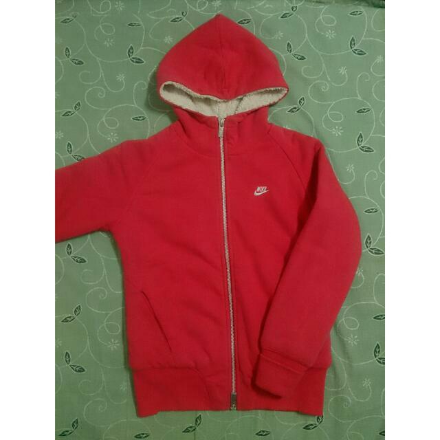 Nike 超保暖紅色外套