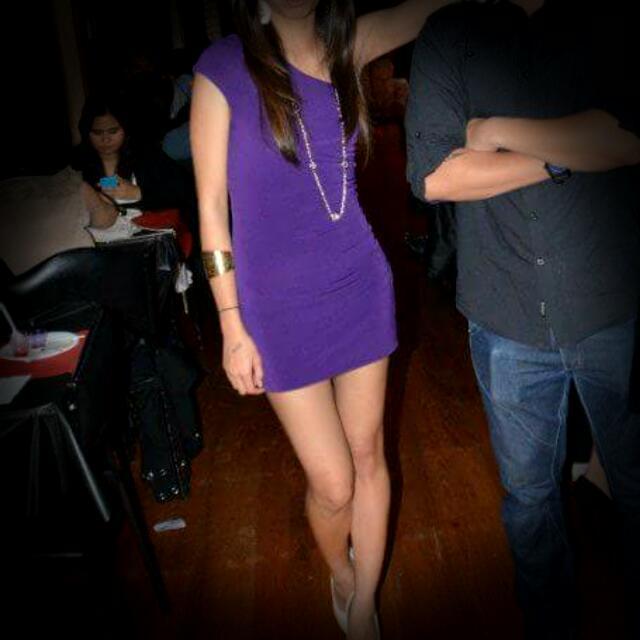 One Shoulder Bodycon Dress XS
