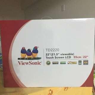 """再降500元,ViewSonic 22""""16:9觸碰液晶螢幕"""