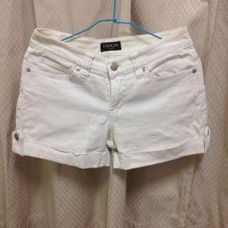 Stockon正版 白褲m號