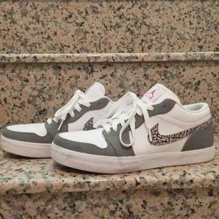 Nike Air Jordan 限量真品蛇紋鞋