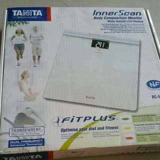 Tanita Inner Scan Body Composition monitor