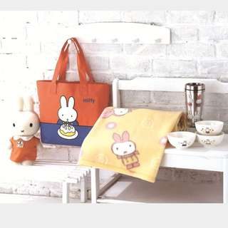 (全新)正版 米飛兔 Miffy 暖心毯 毛毯 毯子