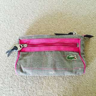 Lacoste Pouch / Make Up Purse (on Hold)