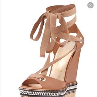 Christian Laboutin wedges