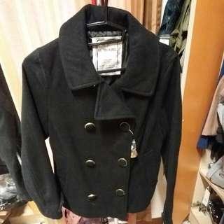 RETRO GIRL 短版雙排扣外套