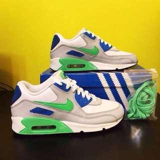 Nike Air Max藍綠配色(GS)
