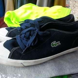 鱷魚牌 lacoste 帆布鞋