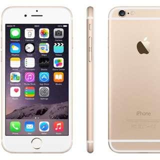 Iphone 6 Gold 16gb Mint $660
