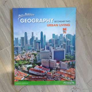 All About Geography Urban Living Sec 2 Textbook