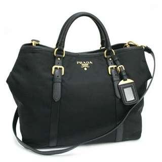 Preloved Authentic Prada BN1881 - Tessuto Nylon Tote Bag