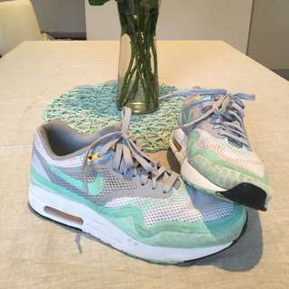 Air Max One Breeze Tiffany Blue And White