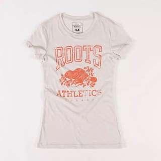 全新 加拿大Roots T恤 女生
