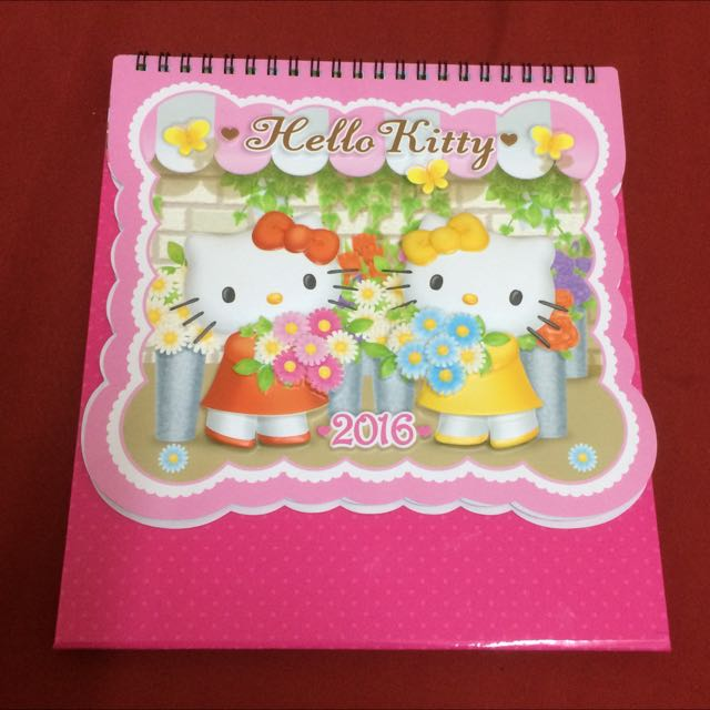 2016 Hello Kitty 桌曆