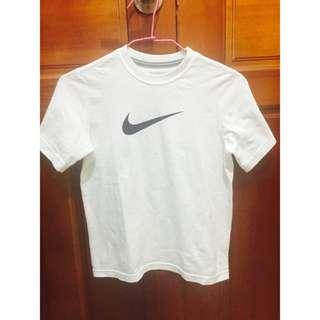 (免運) Nike Logo白T
