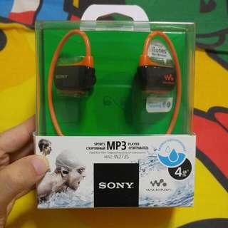 Waterproof Sony Sports Player